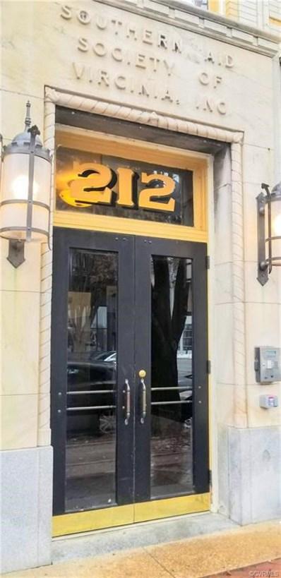212 E Clay Street UNIT 2C, Richmond, VA 23219 - MLS#: 1841725