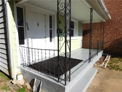 526 Arnold Avenue, Richmond, VA 23222 - MLS#: 1901636