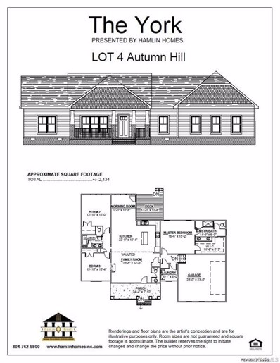 12017 Autumn Knoll Drive, Mechanicsville, VA 23116 - MLS#: 2100128