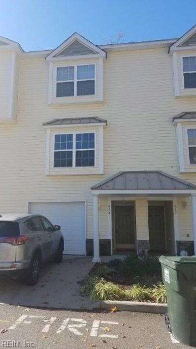 822 Skelton Way, Newport News, VA 23608 - #: 10232414