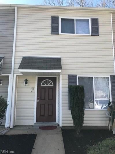 153 Delmar Lane UNIT G, Newport News, VA 23602 - #: 10250206