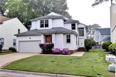 813 Hamder Way, Newport News, VA 23602 - #: 10256179