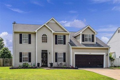 819 Chapin Wood Drive, Newport News, VA 23608 - #: 10271465