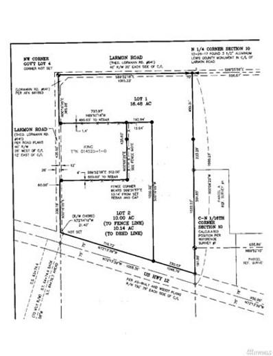 Larmon Rd, Napavine, WA 98532 - MLS#: 1266643