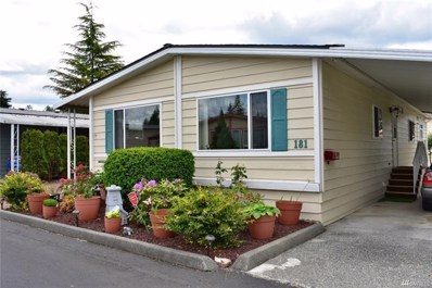 620 112th St SE UNIT 181, Everett, WA 98208 - MLS#: 1301920