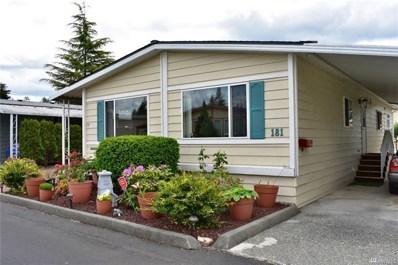 620 112th St SE UNIT 181, Everett, WA 98208 - MLS#: 1301920