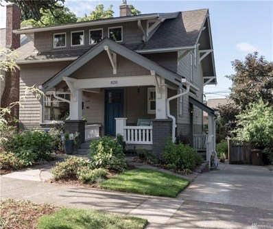 820 N Ainsworth Ave, Tacoma, WA 98403 - MLS#: 1311939