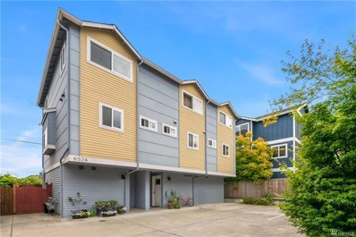 6524 34th Ave SW UNIT A, Seattle, WA 98126 - MLS#: 1322502
