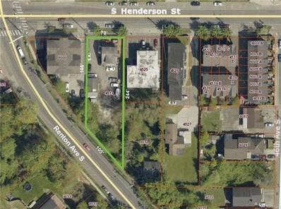 4519 S Henderson St, Seattle, WA 98118 - MLS#: 1335573