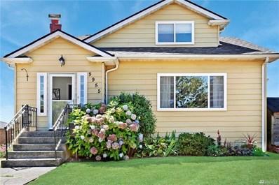 5955 42nd Ave SW, Seattle, WA 98136 - MLS#: 1340970