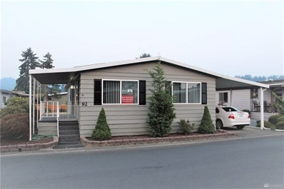 1402 22nd St NE UNIT 92, Auburn, WA 98002 - MLS#: 1351765