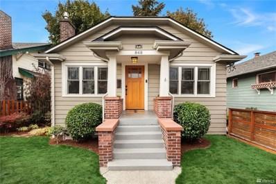 848 NE 58th St, Seattle, WA 98105 - MLS#: 1360113