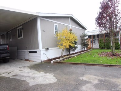 1120 S 25th UNIT 45, Mount Vernon, WA 98274 - MLS#: 1382282