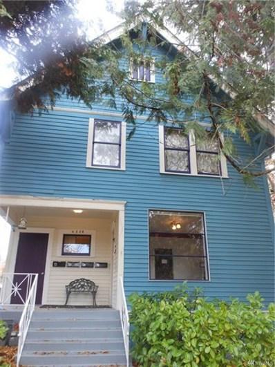 4238 Thackeray Place NE, Seattle, WA 98105 - MLS#: 1383026