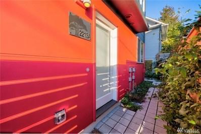 2213 Franklin Ave E UNIT A, Seattle, WA 98102 - MLS#: 1399728