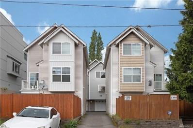 2308 N 113th Place UNIT B, Seattle, WA 98133 - MLS#: 1461178