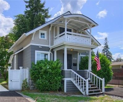 316 120th St S, Tacoma, WA 98444 - MLS#: 1489782