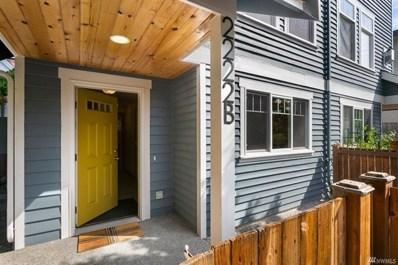 2222 Nw 59TH Street UNIT B, Seattle, WA 98107 - #: 1505327