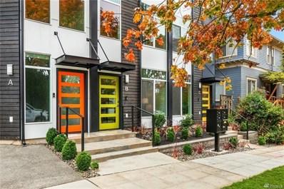 822 25th Ave S UNIT B, Seattle, WA 98144 - MLS#: 1510717