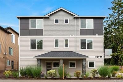 22925 79th Place W UNIT A, Edmonds, WA 98026 - MLS#: 1513591