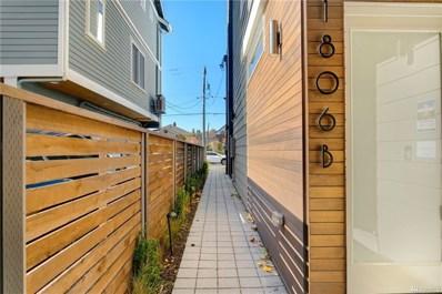 1806 25th Ave S UNIT B, Seattle, WA 98144 - MLS#: 1532279