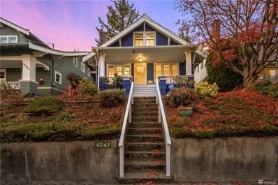 4747 Latona Ave NE, Seattle, WA 98105 - MLS#: 1539357