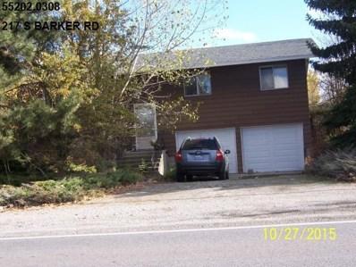 217 S Barker, Greenacres, WA 99016 - MLS#: 201820099