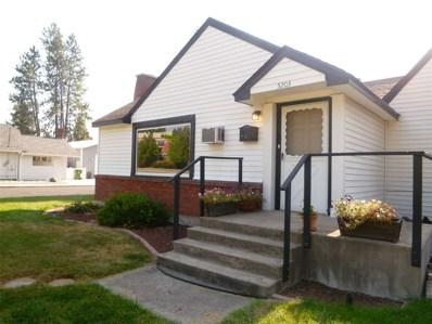 5203 N Driscoll, Spokane, WA 99205 - MLS#: 201824120