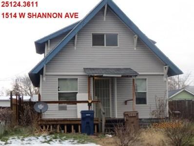 1514 W Shannon, Spokane, WA 99205 - #: 201913012