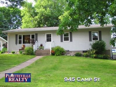 945 Camp St, Platteville, WI 53818 - MLS#: 1832847