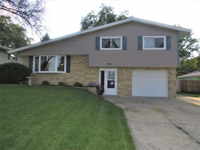 541 N Grant Ave, Janesville, WI 53545 - MLS#: 1840135